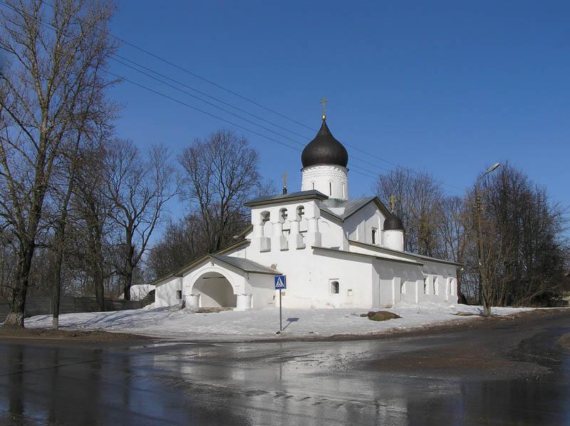 Церковь Воскресения Христова со Стадища-Псков-г. Псков-Псковская область