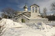 Церковь Спаса Нерукотворного Образа с Жабьей Лавицы-Псков-г. Псков-Псковская область-Valensienne