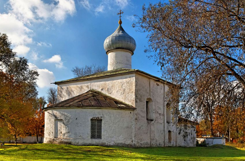 Церковь Спаса Нерукотворного Образа с Жабьей Лавицы-Псков-г. Псков-Псковская область