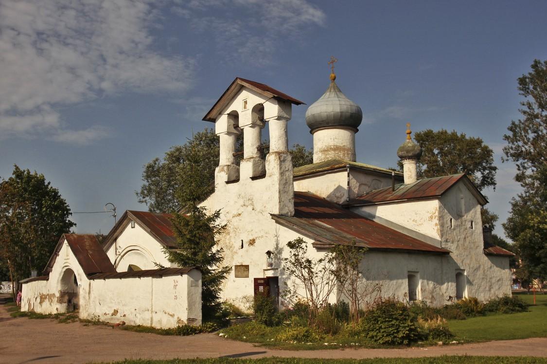 Церковь Спаса Нерукотворного Образа с Жабьей Лавицы, Псков