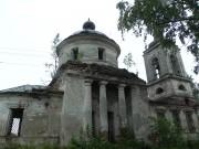 Погост (Ежесельга). Троицы Живоначальной, церковь