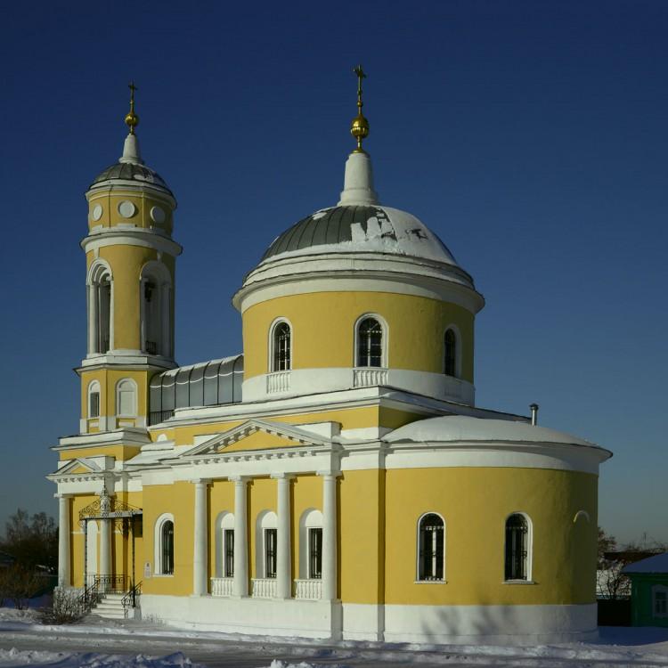 Церковь Воздвижения Креста Господня в г. Коломна