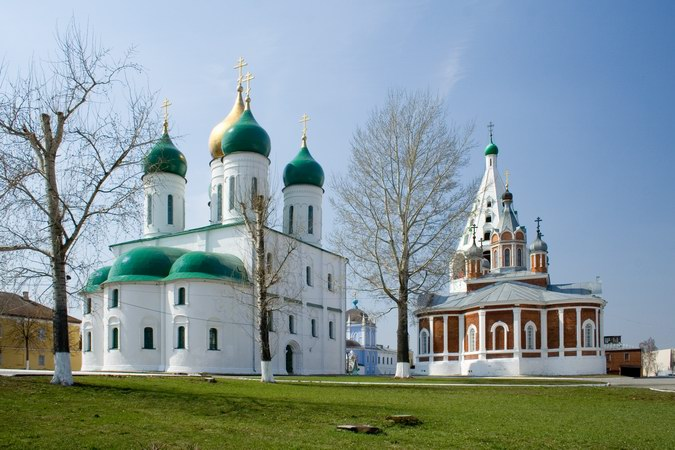 Собор Успения Пресвятой Богородицы-Коломна-Коломенский район-Московская область