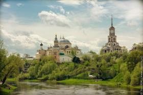 Картинки по запросу Борисоглебский монастырь (Торжок)
