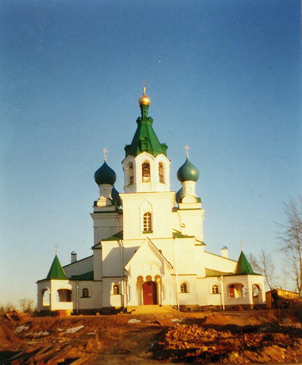 Церковь Димитрия Солунского, Городня
