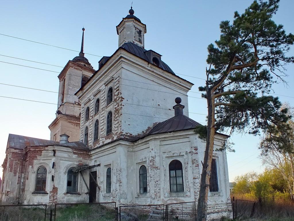 Церковь Михаила Архангела, Новопышминское