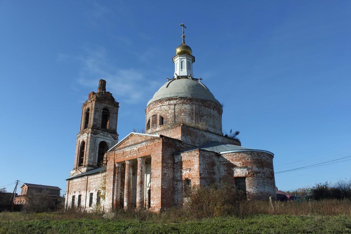Церковь Илии Пророка-Васильково-Суздальский район-Владимирская область
