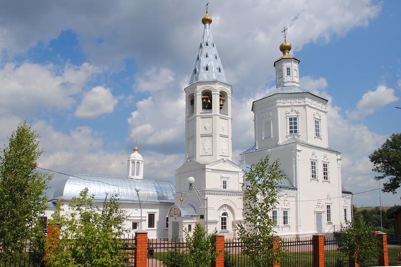 Церковь Богоявления Господня-Венёв-Венёвский район-Тульская область