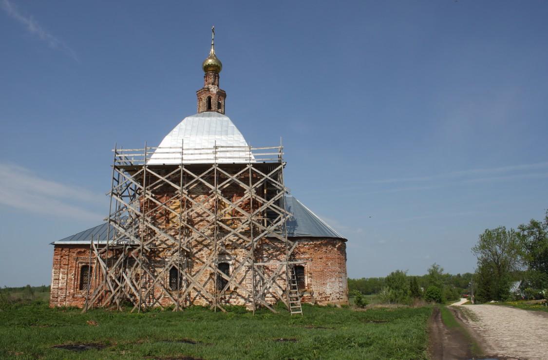 Церковь Богоявления Господня, Глебовское