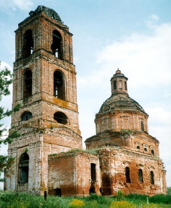 Церковь Николая Чудотворца, Мордыш