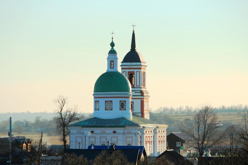 Церковь Спаса Преображения, Нижние Прыски