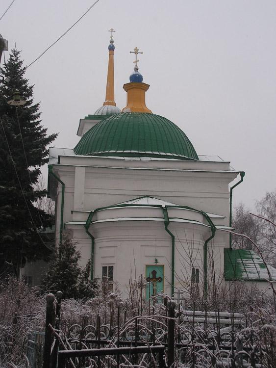 Церковь Димитрия Солунского на Чулковском кладбище, Тула