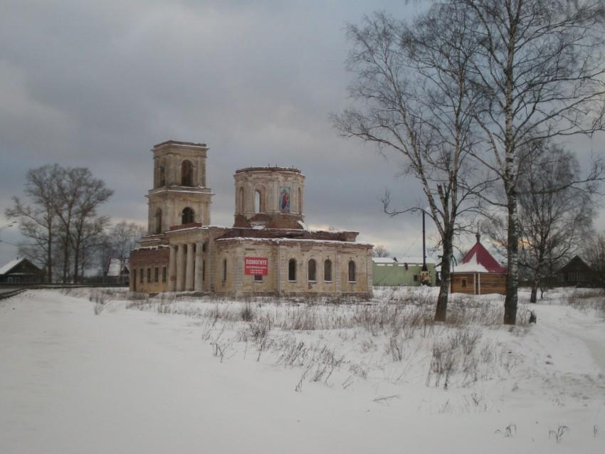 Церковь Михаила Архангела, Хотилово