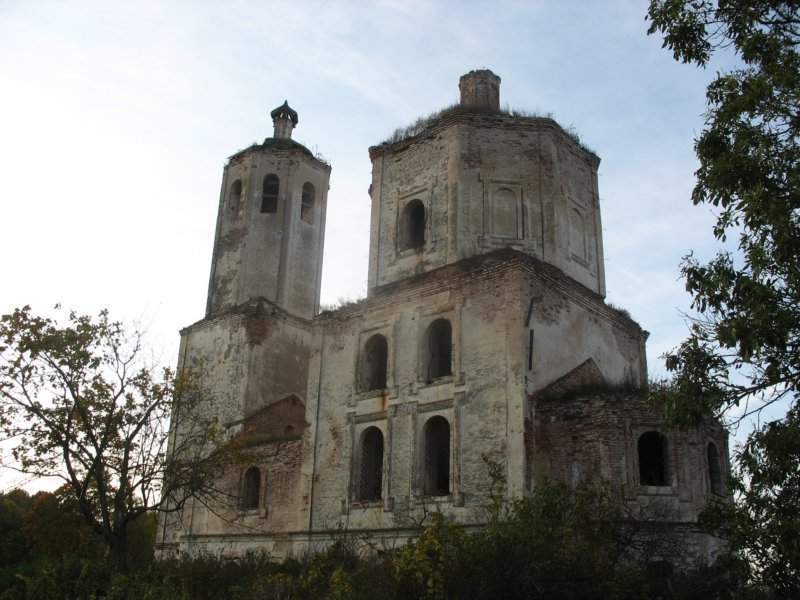 Церковь Николая Чудотворца, Голенищево