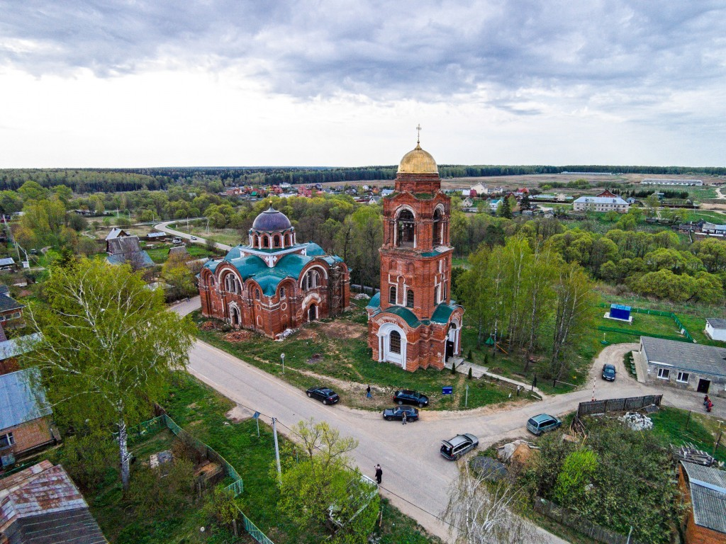 Церковь Рождества Христова-Рождество-Наро-Фоминский район-Московская область