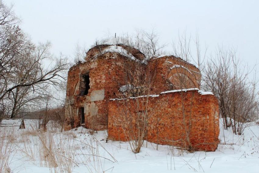 Церковь Николая Чудотворца-Авчурино-Ферзиковский район-Калужская область