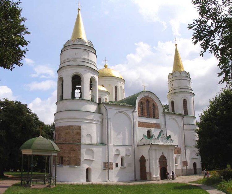 Собор Спаса Преображения, Чернигов