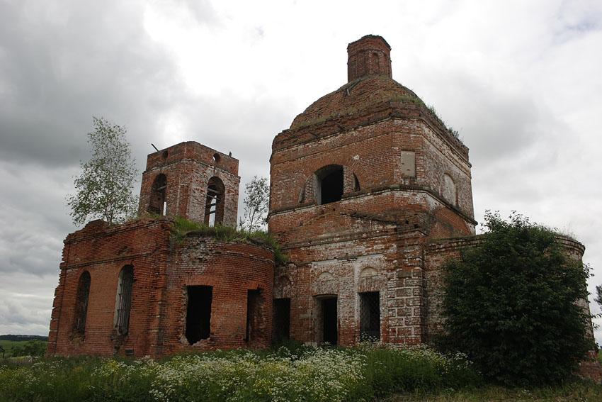 Церковь Вознесения Господня, Хотенское