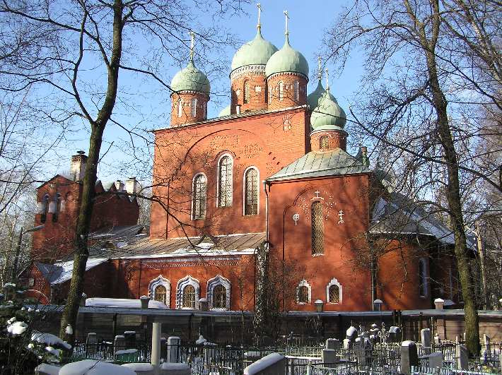 Церковь Успения Пресвятой Богородицы на новом Бугровском кладбище, Нижний Новгород