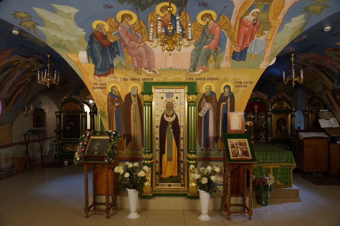 Покровский монастырь. Церковь Николая Чудотворца, Балахна
