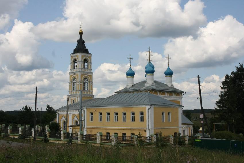 Церковь Казанской иконы Божией Матери, Лакинск