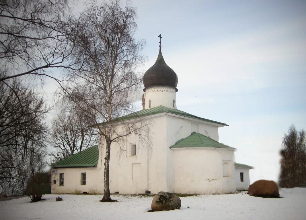 Церковь Николая Чудотворца (Николы Каменноградского) бывшего Никольского монастыря-Псков-г. Псков-Псковская область