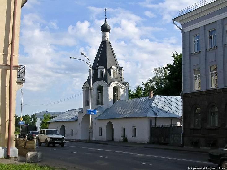 Церковь Михаила и Гавриила Архангелов с Городца, Псков