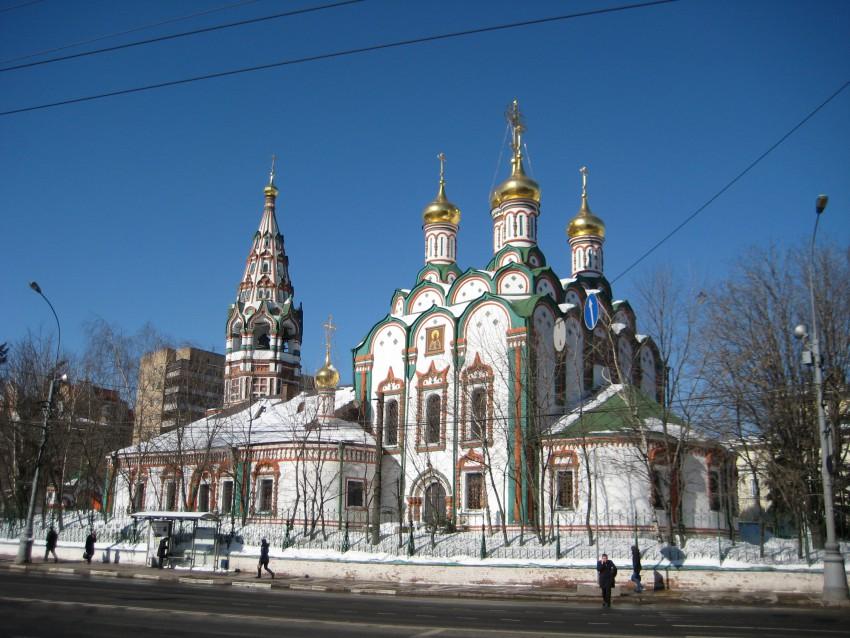 Церковь Николая Чудотворца в Хамовниках, Москва