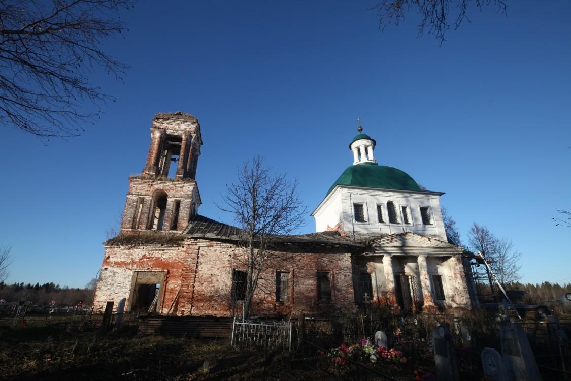 Церковь Воскресения Христова, Торопово
