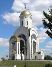 Храм святого георгия победоносца поклонная гора история