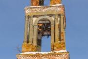 Городище. Воскресения Христова, колокольня церкви