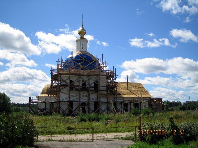 Церковь Рождества Пресвятой Богородицы, Федосьино