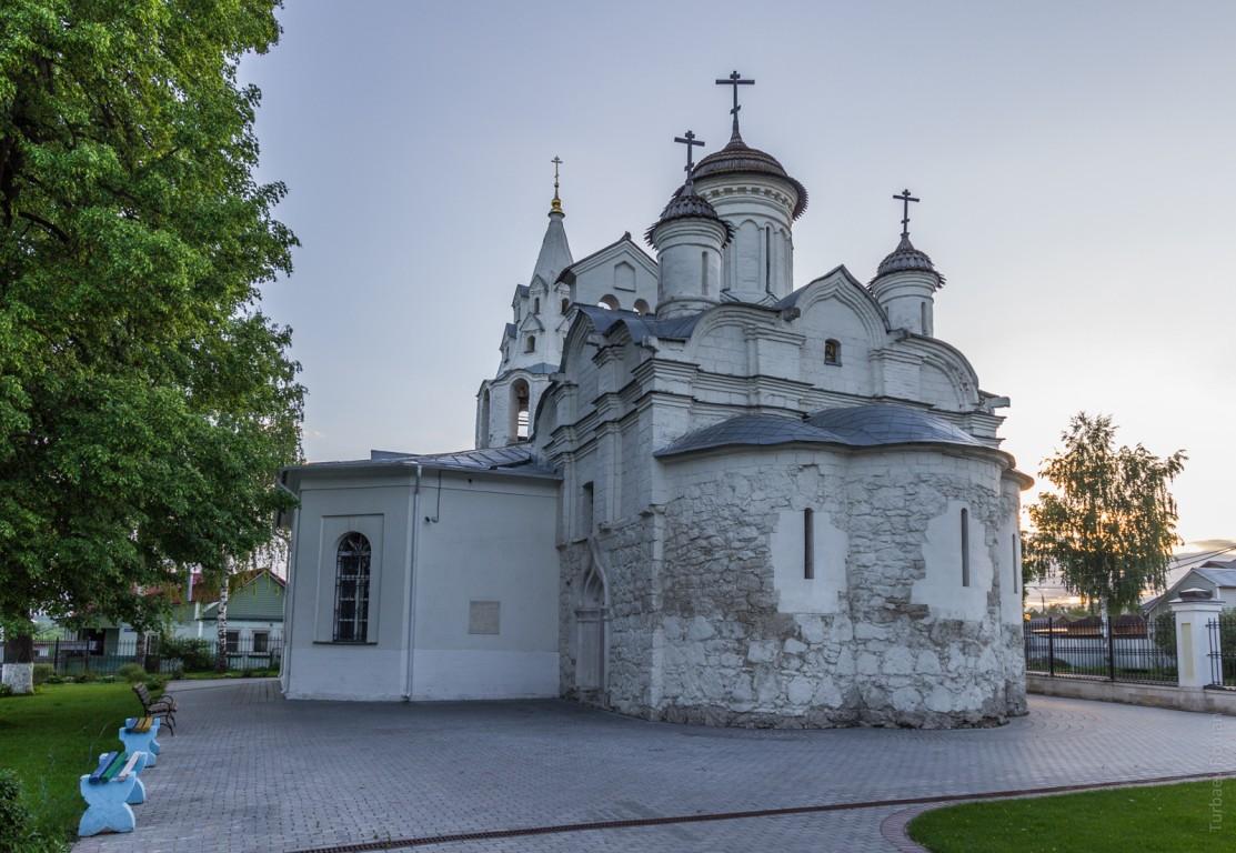 Церковь Иоанна Предтечи в Городищах-Коломна-Коломенский район-Московская область