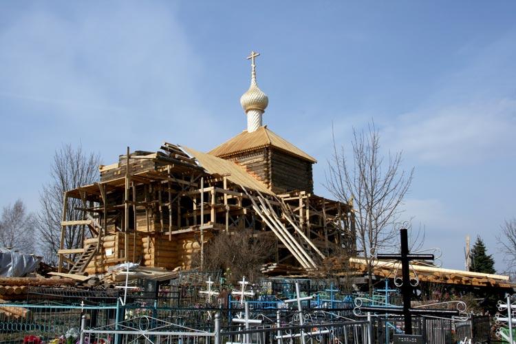 Церковь Покрова Пресвятой Богородицы в Высоком, Боровск