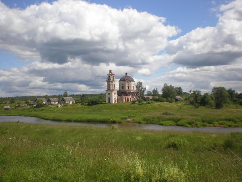 Церковь Николая Чудотворца-Бабье-Спировский район-Тверская область