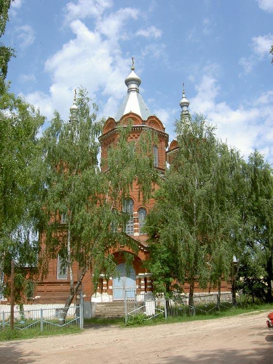 Собор Троицы Живоначальной быв. Тихоновского Троицкого (Скорбященского) монастыря, Задонск