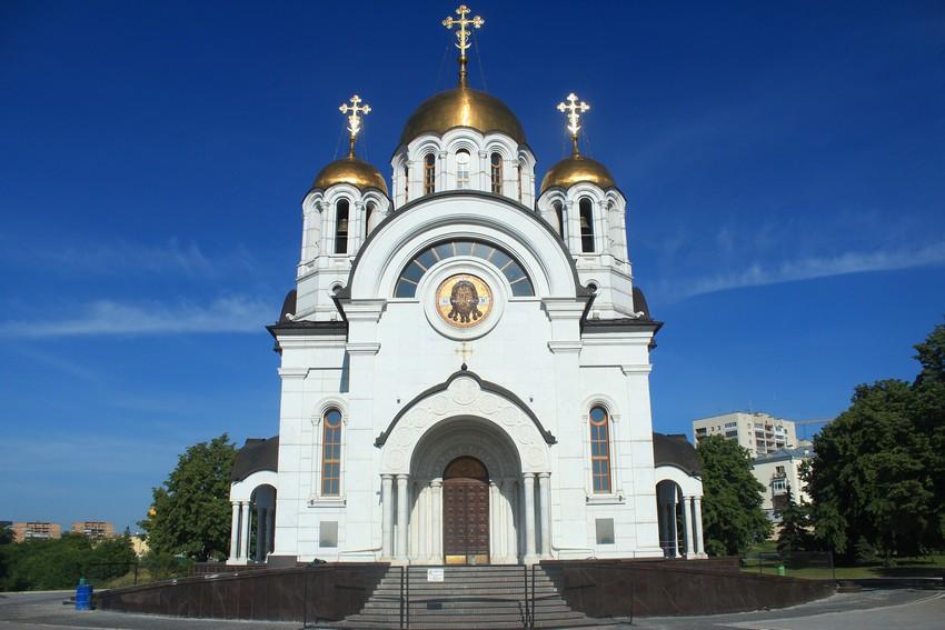 Церковью георгия победоносца