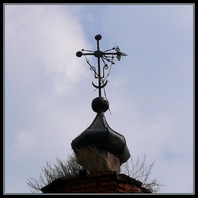 Колокольня церкви Воздвижения Креста Господня, Новое Павшино