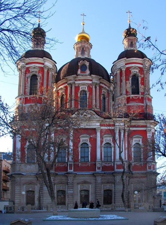 Церковь Климента, папы Римского (Спаса Преображения), Москва