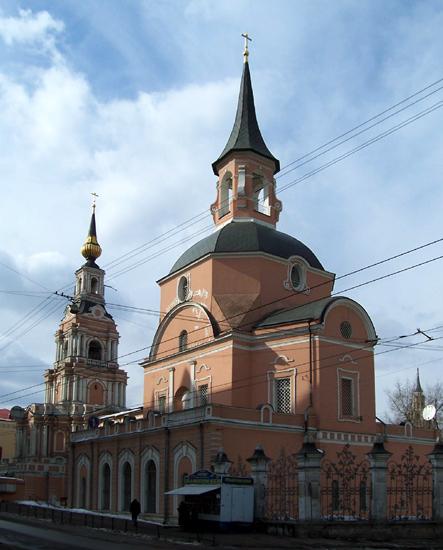 Церковь Петра и Павла в Новой Басманной слободе, Москва