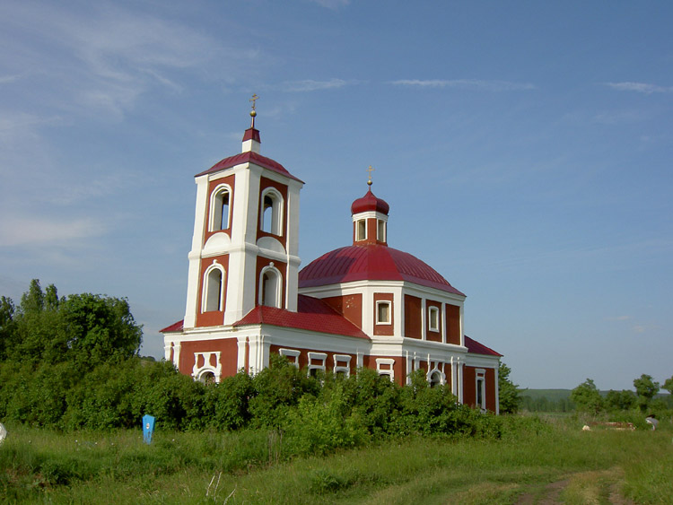 Церковь Николая Чудотворца, Каменка