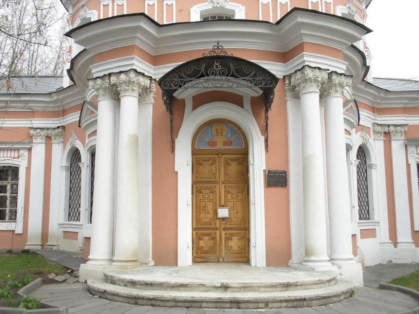 Церковь Екатерины на Всполье, Москва