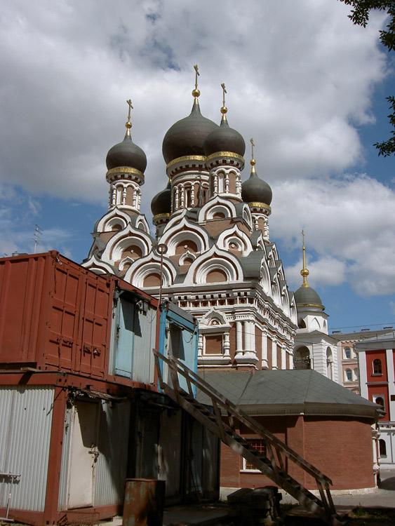 Церковь Георгия Победоносца (Рождества Пресвятой Богородицы) в Ендове, Москва