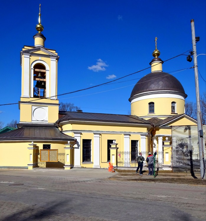Церковь Троицы Живоначальной на Воробьевых горах, Москва