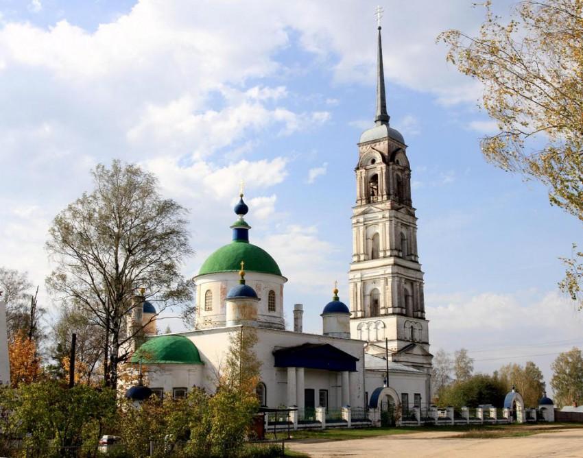 Церковь Спаса Преображения, Давыдово
