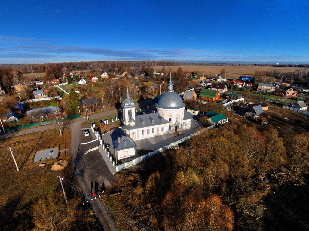 Церковь Рождества Христова-Щеглятьево-Домодедовский район-Московская область