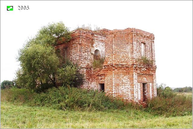 Церковь Димитрия Солунского, Глядково