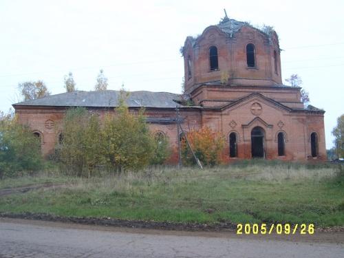 Церковь Тихвинской иконы Божией Матери, Верхобыстрица