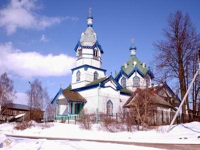 Церковь Александра Невского-Удугучин-Увинский район-Республика Удмуртия