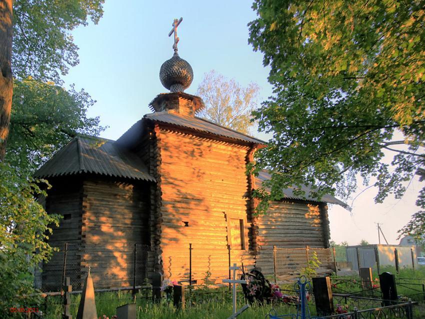 Церковь Николая Чудотворца, Васильевское